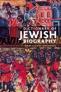 Dictionary of Jewish Biography Paperback