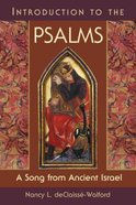 Introduction to the Psalms Paperback