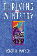 Thriving in Ministry Paperback