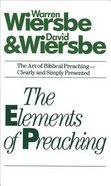 The Elements of Preaching Paperback