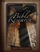 Bible Research Paperback