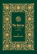 Holy Quran Text Translation & Commentary Paperback