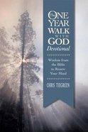 The One Year Walk With God Devotional Paperback