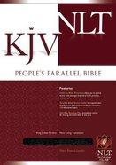 NLT KJV People's Parallel Black Bonded Leather