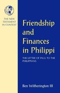 Friendship and Finances in Philippi Paperback