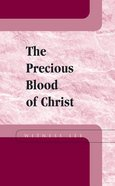 The Precious Blood of Christ Booklet