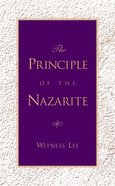 The Principle of the Nazarite Paperback