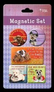 Magnetic Set of 5: Pets