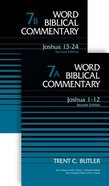 Joshua (Second Edition) (2 Volume Set) (Word Biblical Commentary Series) Hardback