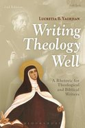 Writing Theology Well (2nd Edition) Paperback