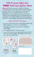 ICB Princess Bible With Coloring Sticker Book Pink