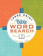 Bible Word Search Volume 1 (Large Print)