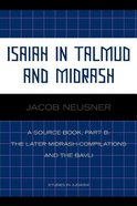 Isaiah in Talmud and Misrash Paperback
