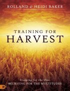 Training For Harvest Paperback
