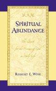 Spiritual Abundance Paperback