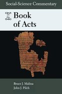 Social-Science Commentary on the Book of Acts Paperback
