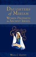 Daughters of Miriam Paperback