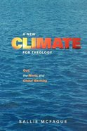 A New Climate For Theology Paperback