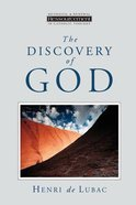 The Discovery of God Paperback