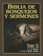 Biblia De Bosquejos Y Sermones #12: Pedro, Juan, Judas (#12 in Preacher's Outline & Sermon Bible Series) Paperback
