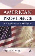 American Providence Hardback