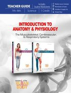 Introduction to Anatomy & Physiology #01 (Teachers Guide) (Wonders Of The Human Body Series)