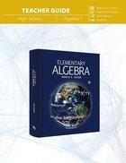 Elementary Algebra (Teacher Guide) Paperback