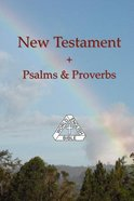 World English Bible New Testament & Psalms & Proverbs Paperback