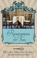 Reservations For Two (Large Print) (#02 in Two Blue Doors Series)