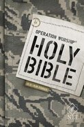 NLT Operation Worship Bible Air Force Edition Paperback