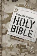 NLT Operation Worship Bible Us Marine Corps Edition Paperback