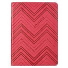 Journal: Hope in the Lord Red Stripes Luxleather Imitation Leather