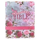 KJV My Creative Bible Silky Floral (Black Letter Edition)