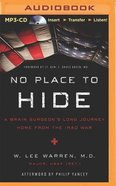 No Place to Hide (Unabridged Mp3) CD