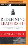Redefining Leadership (Unabridged Mp3) CD