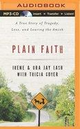Plain Faith (Unabridged, Mp3) CD