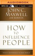 How to Influence People (Unabridged, Mp3) CD