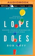 Love Does (Unabridged, Mp3) CD