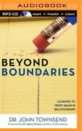 Beyond Boundaries (Unabridged, Mp3) CD