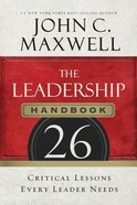 The Leadership Handbook (Unabridged, 8 Cds) CD