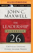 The Leadership Handbook (Unabridged, Mp3) CD