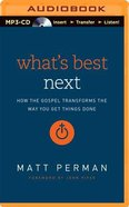 What's Best Next (Unabridged, Mp3) CD
