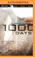 1000 Days (Unabridged, Mp3) CD