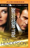 Full Disclosure (Unabridged, Mp3) CD