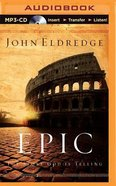 Epic (Unabridged, Mp3) CD
