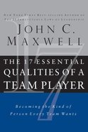 The 17 Essential Qualities of a Team Player (Abridged, 3 Cds)