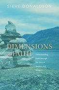 Dimensions of Faith Paperback
