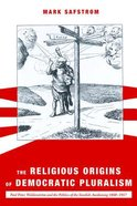 The Religious Origins of Democratic Pluralism Paperback
