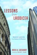 Lessons From Laodicea Paperback