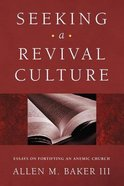 Seeking a Revival Culture eBook